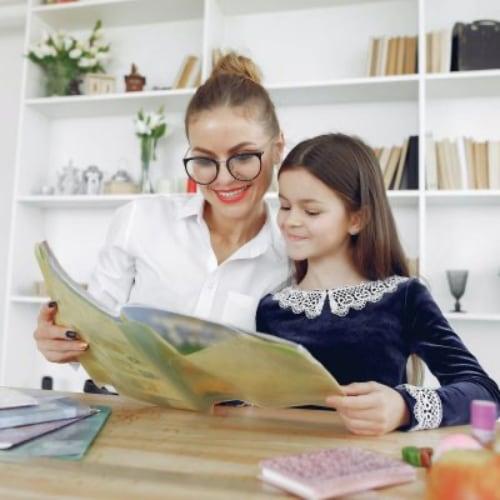 Pagalba vaikui mokantis